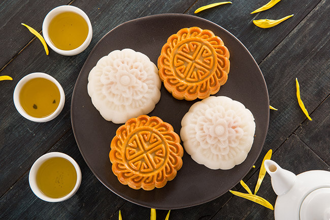 Các loại bánh nhân bánh làm nên thương hiệu Bánh Trung thu Kinh đô